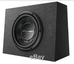 New Pioneer TS-WX106B 1100 Watts 10 Pre Loaded Compact Subwoofer Enclosure Box