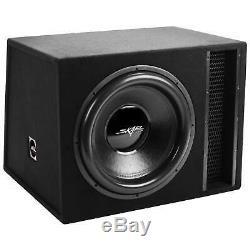 New Skar Audio Evl-1x18d2 Single 18 2500 Watt Vented Loaded Sub Box Enclosure