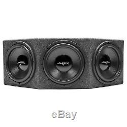 New Skar Audio Ix-3x12d2 Triple 12 1500w Loaded Sealed Car Subwoofer Enclosure