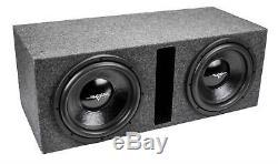New Skar Audio Ix12d2-2x12vented Dual 12 Vented Loaded Sub Box Enclosure D2