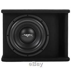 New Skar Audio Sdr-1x10d2 1200 Watt Single 10 Loaded Vented Subwoofer Enclosure