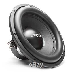 New Skar Audio Sdr-1x15d2 1200 Watt Single 15 Loaded Vented Subwoofer Enclosure