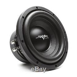New Skar Audio Sdr-1x8d2 700 Watt Single 8 Loaded Vented Subwoofer Enclosure