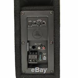 OPEN BOX JL Audio ACP208LG-W3V3 8 Loaded Car Subwoofer & Enclosure Box & Amp