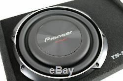 Pioneer 10 Inch 1200 Watt Shallow Mount Subwoofer Pre-Loaded Sub Car Audio