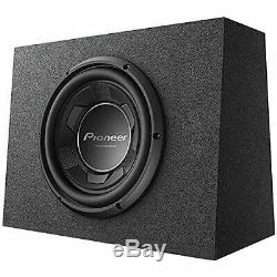 Pioneer 10 Pre-Loaded Compact Subwoofer System Enclosure Speaker Box