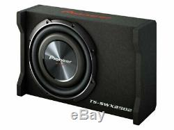 Pioneer 10-in 1200W Shallow-Mount Pre-Loaded Subwoofer Enclosure TS-SWX2502