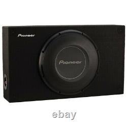 Pioneer A-series Shallow-mount Pre-loaded Enclosure (10-inch Subwoofer)