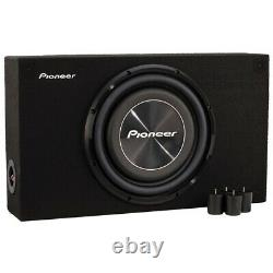 Pioneer A-series Shallow-mount Pre-loaded Enclosure (12-inch Subwoofer)