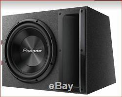 Pioneer TS-A120B 12 Pre-loaded subwoofer system 1500 Watts Max TSA120B