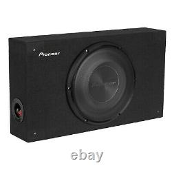 Pioneer TS-A2500LB 10 Shallow Compact Pre-Loaded Sealed Enclosure Car Subwoofer
