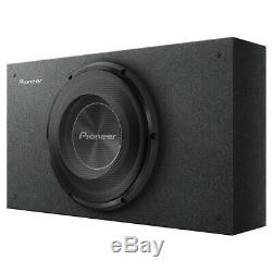 Pioneer TS-A2500LB A-Series Shallow-Mount Pre-Loaded Enclosure 10-Inch Subwoofe