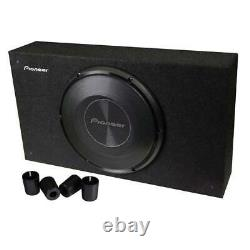 Pioneer TS-A3000LB 1500 Watts Max 2 Ohms 12 Shallow-Mount Compact Pre-Loaded