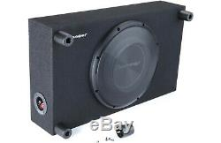 Pioneer TS-A3000LB 1500W 12 Loaded Shallow Under Seat Truck Subwoofer Enclosure