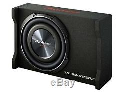 Pioneer TS-SWX2502 10 Shallow Mount Pre-Loaded Subwoofer Enclosure Sub + Box
