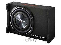 Pioneer TS-SWX2502 10 inch Shallow-Mount Pre-Loaded Enclosure