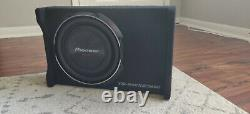Pioneer TS-SWX2502 10 inch Shallow-Mount Pre-Loaded Enclosure Subwoofer