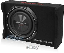 Pioneer TS-SWX2502 300W RMS 10 Single 4 ohm Shallow Loaded Subwoofer Enclosure