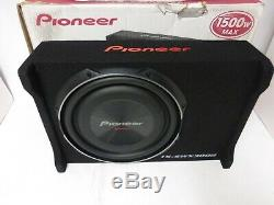 Pioneer TS-SWX3002 12 Shallow-Mount Pre-Loaded Enclosure EACH
