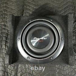 Pioneer TSSWX2002 8 Shallow Mount Pre Loaded Enclosure TS-SWX2002 Very Nice