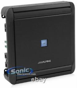 Pioneer TSWX126B 12 Loaded Sub Enclosure + Alpine Mono Amplifier + Free Amp Kit