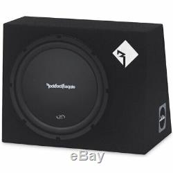 ROCKFORD FOSGATE 300W PRIME ENCLOSED SUBWOOFER BOX LOADED ENCLOSURE with 12 SUB