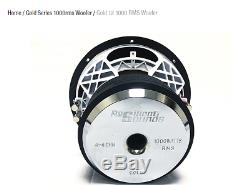 Resilient Sounds GOLD 12 1,000RMS/2000WATT (D4 OR D2 OHM LOAD)