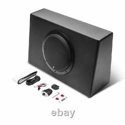 Rockford Fosgate 10 300W Powered Truck Loaded Subwoofer Enclosure (For Parts)