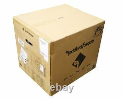 Rockford Fosgate 12 1 Ohm 800 Watt Single Loaded Vented Enclosure P2-1X12