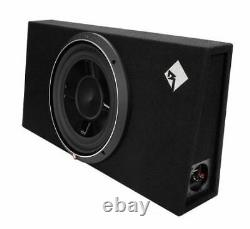Rockford Fosgate 12 800 Watts 1 Ohm Shallow Loaded Subwoofer Enclosure P3S-1X12