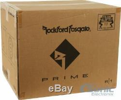 Rockford Fosgate 400W Single 10 Prime Series Loaded Car Subwoofer Enclosure