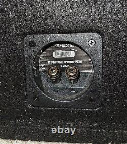 Rockford Fosgate Loaded Enclosure Subwoofer with 1,500 Watt Monoblocl Car Amp