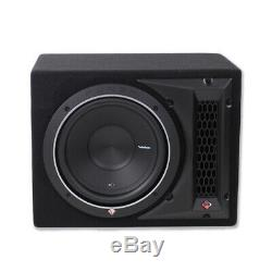 Rockford Fosgate P1-1X12 12 500W Subwoofer Loaded Vented Enclosure Sub NEW