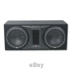 Rockford Fosgate P1-2X10 Dual 10 1000W Subwoofer Loaded Vented Enclosure NEW