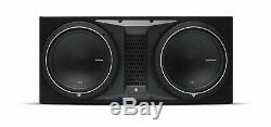 Rockford Fosgate P1-2X12, Punch Dual 12 Ported Loaded Enclosure, 500 Watts RMS