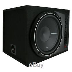 Rockford Fosgate P2-1X12 12 800W Subwoofer Loaded Vented Enclosure Sub NEW