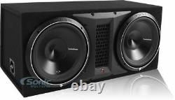 Rockford Fosgate P3-2X12 2400W 12 Ported Bass Loaded Subwoofer Enclosure