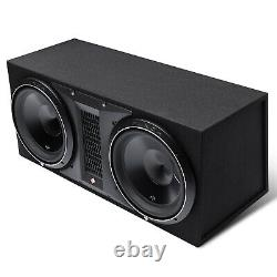 Rockford Fosgate P3-2X12 Punch Dual P3 12 Loaded Enclosure Ported Subwoofer