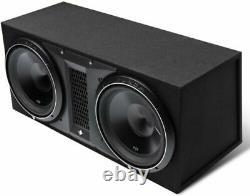 Rockford Fosgate P3-2x12 12 2400w Dual Loaded Subwoofers Bass Speakers Box New