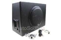Rockford Fosgate P300-12 300 Watts Loaded 12 Sealed Powered Subwoofer Enclosure