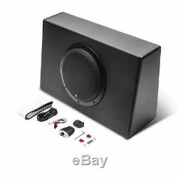 Rockford Fosgate P30010T Punch 10 300W Powered Truck Loaded Subwoofer Enclosure
