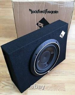 Rockford Fosgate P3S-1X10 Single P3 10 Shallow Loaded Enclosure 600W EX-DEMO#