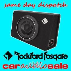 Rockford Fosgate P3s-1x10 600w 10 Slim Shallow Loaded Enclosure Subwoofer Box