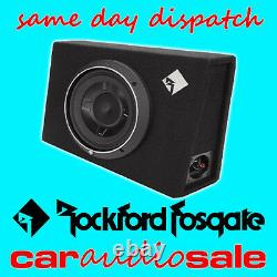Rockford Fosgate P3s-1x12 800w 12 Slim Shallow Loaded Enclosure Subwoofer Box