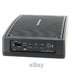 Rockford Fosgate PS-8 8 Punch Powered Under-Seat Loaded Subwoofer Enclosure New