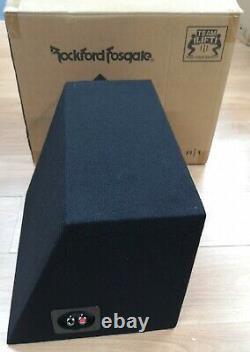 Rockford Fosgate Prime R1-1X10 Single R1 10 200 Watt Loaded Enclosure OPEN-BOX#