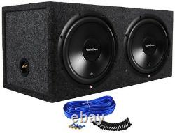 Rockford Fosgate Prime R2 Series 12 R2D2-12 with Dual Sealed Enclosure Loaded