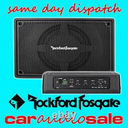 Rockford Fosgate Ps-8 8 Active Powered Loaded Subwoofer Amplified Box Wiring