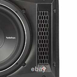 Rockford Fosgate Punch 12 800W 1-Ohm Single Loaded Vented Enclosure P2-1X12