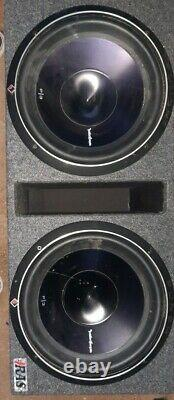 Rockford Fosgate Punch Dual P3 P3-2X12 12 inch 2400W Loaded Enclosure Subwoofer